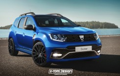 Dacia Duster GT: Prima imagine cu noul SUV sport