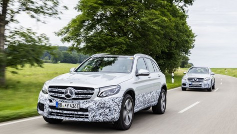 Teaser: Mercedes GLC F-Cell, primul SUV alimentat cu hidrogen