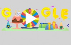 Roata aniversară GOOGLE marchează 19 ani de existență!