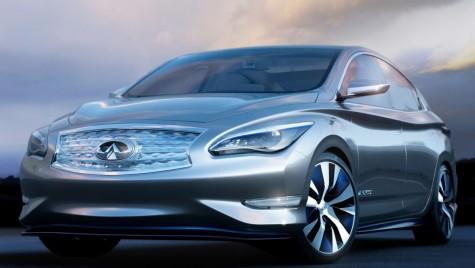 Infiniti prezintă o mașină electrică la Detroit, frate premium cu Nissan Leaf