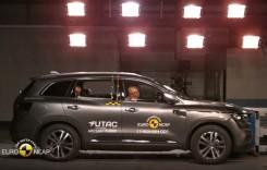 Euro NCAP: Cinci stele pentru noul Renault Koleos