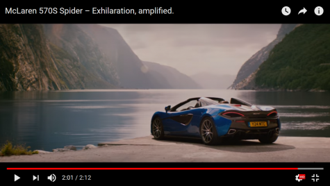 McLaren 570S Spider: Seducție britanică în stil italian