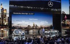 Frankfurt Live: Premierele Mercedes și 50 modele electrificate până în 2022
