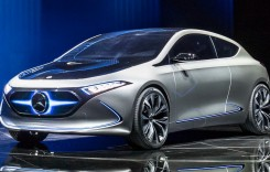 Frankfurt Live: Mercedes EQA, cel mai mic model electric al casei germane