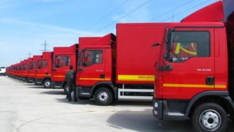 Poșta Română cumpără 180 de utilitare noi. Cine a câștigat licitația