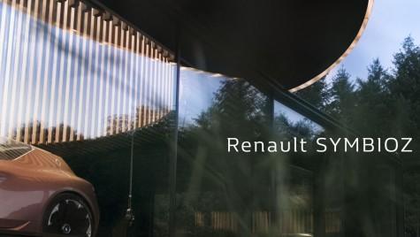 Renault Symbioz: Francezii aduc un concept inedit la Frankfurt