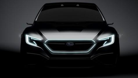 Teaser: Subaru Viziv Performance Concept sau noua Impreza WRX STi