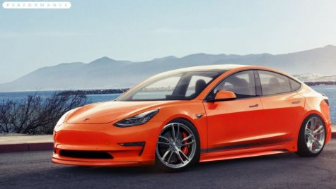 Tesla Model 3: Primul pachet de tuning pentru sedanul electric