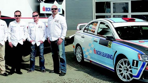 Componența reală a BCR Leasing Rally Team este alta!