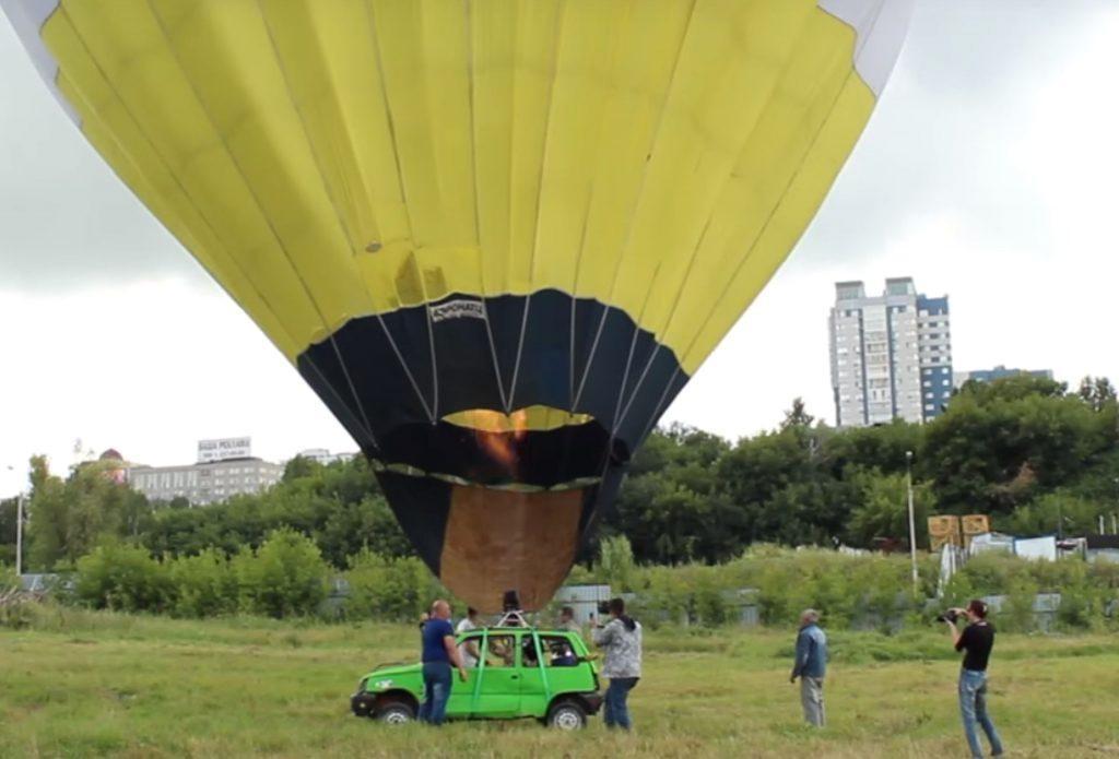 Balon mașina zburatoare