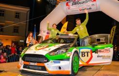 Bogdan Marișca și Carmen Poenaru sunt campioni naționali la raliuri!