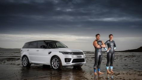 Întrecere acvatică. Range Rover Sport facelift PHEV înoată!