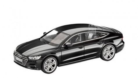 Noul Audi A7 Sportback deconspirat de o jucărie