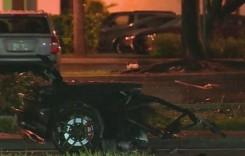 Norocoșii din Lamborghini – Li s-a rupt mașina în două și au scăpat miraculos!