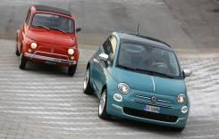 Cap sau pajură? Fiat 500 pe o monedă de argint
