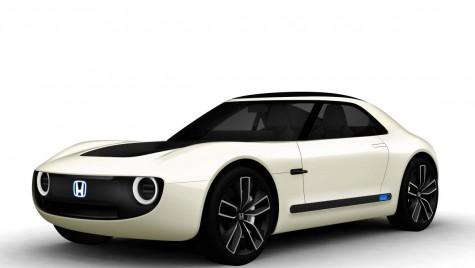 Honda Sports EV Concept: Coupe retro cu propulsie electrică