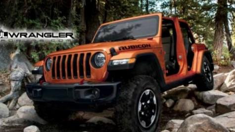 Imagini în premieră cu noul Jeep Wrangler