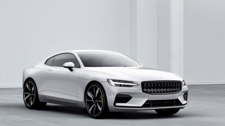 Polestar 1, noul coupe hibrid cu 600 CP de la Volvo