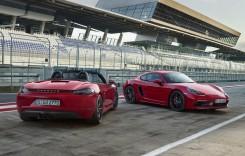 Porsche 718 GTS: Cayman și Boxster, acum cu 365 CP