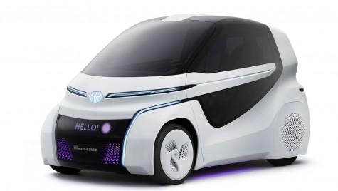 Toyota prezintă două concepte electrice inedite