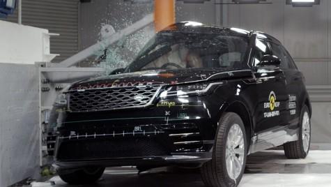 EuroNCAP: Scor maxim de 5 stele pentru Range Rover Velar