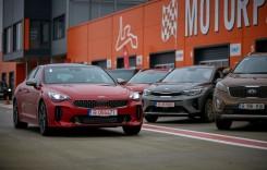 Kia Stinger – atac pe circuitul Motorpark!