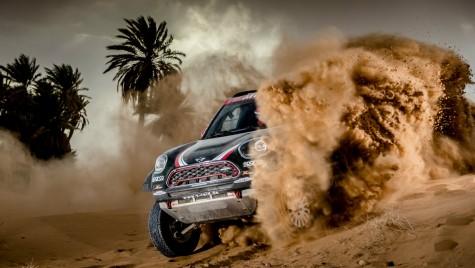 Ce ați făcut cu simpaticul MINI? Așa arată MINI în versiune Dakar