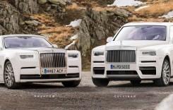 Așa va arăta primul SUV Rolls-Royce din istorie, Cullinan