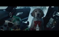 Moș Crăciun conduce un AMG! Dar ce copilot simpatic are!