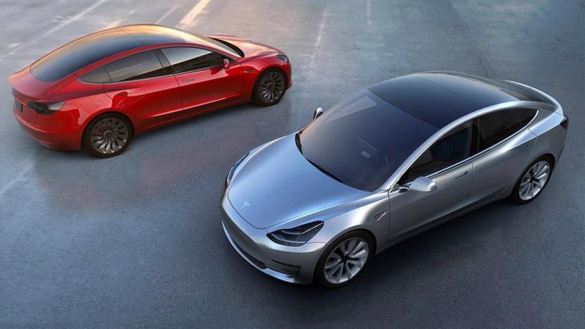 Tesla Model 3 loss