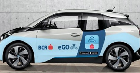 eGo – car sharing electric prin card contactless