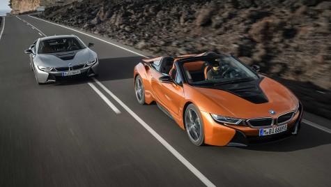 BMW i8 Roadster e aici: Primele imagini și informații oficiale