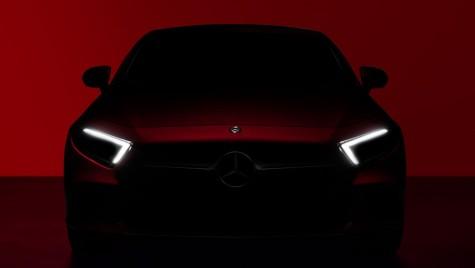 TEASER OFICIAL: Noul Mercedes-Benz CLS se lansează la Los Angeles