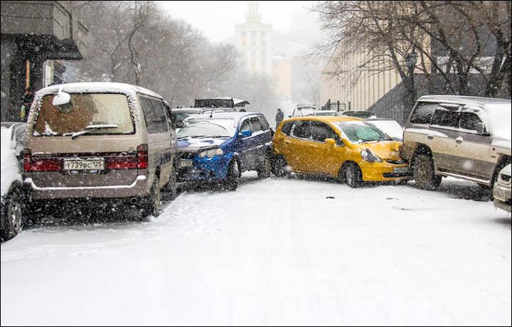 Vladivostok gheață