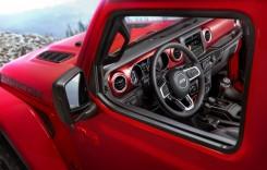 Noul Jeep Wrangler: Primele imagini cu interiorul