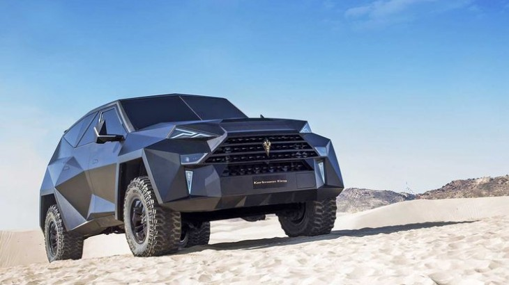 Karlmann King Stealth: SUV gigant Made in China