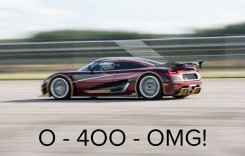 447 km/h: Koenigsegg Agera RS, cea mai rapidă mașină din lume