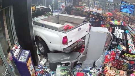 Dispăruți în 60 de secunde – Au furat bancomatul cu mașina