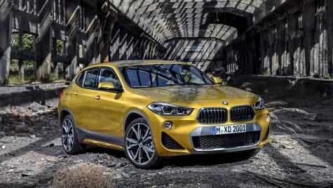 E de aur! Prima reclamă la BMW X2