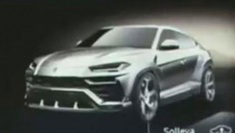 Prima imagine cu Lamborghini Urus: Rambo Lambo e aici