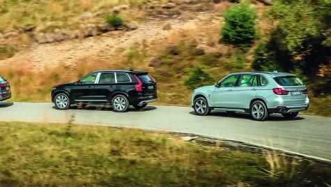 TEST COMPARATIV – PLUG-IN HIBRID – Audi Q7 e-tron, BMW X5 40e, Volvo XC90 T8
