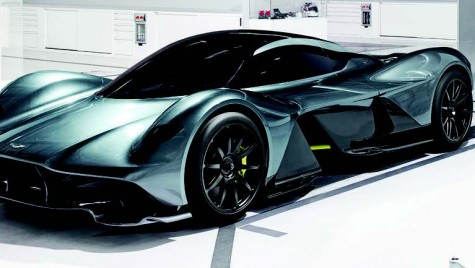 Prezentare: Aston Martin AM-RB 001