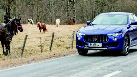 Test Maserati Levante