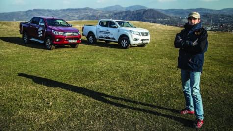 Test comparativ – Nissan Navara Acenta 2.3 DCI 160 CP vs. Toyota Hilux 2.4 Invincible