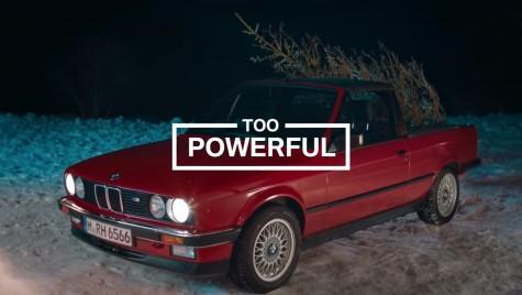 BMW M – Cu ce aduci acasă bradul de Crăciun? Ai grija să nu-l aduci chel!