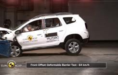 Dacia Duster a luat 3 stele la testele de siguranță EuroNCAP