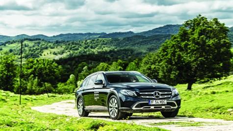 Drive test Mercedes E-Klasse All-Terrain: Durul familiei