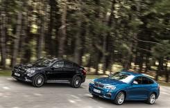 Comparativ BMW X4 M40i vs Mercedes-AMG GLC 43: Mușchetarii teutoni