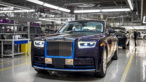 Primul Rolls-Royce Phantom 2018 va fi scos la licitație