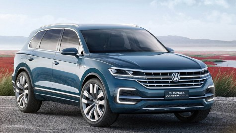 Noul VW Touareg vine în aprilie 2018